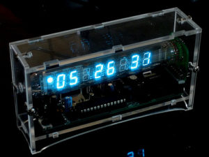 Our Retro Russian Vacuum Tube Clock
