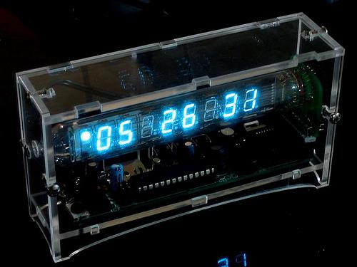 Our Retro Russian Vacuum Tube Clock