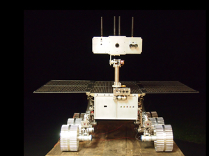 Lunar Rover<br>Prototype for Lunar X-Prize mission