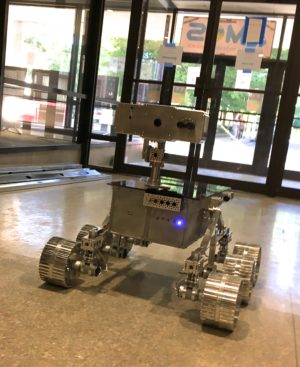 Testing the Lunar Rover at the Asheville Museum of Science