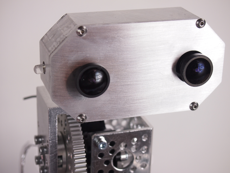 Mounting the HackHD camera on the Actobot Rover