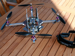Flying Drone Robot