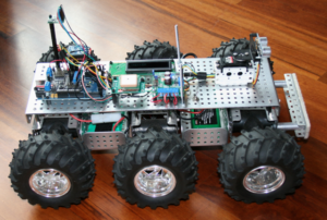 All-Terrain GPS Robot
