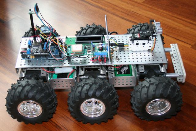 All-Terrain GPS Robot