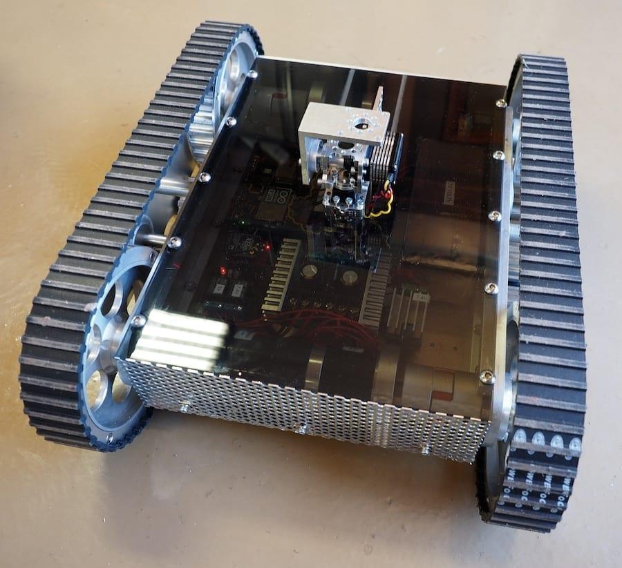 Laser Tank base – work-in-process