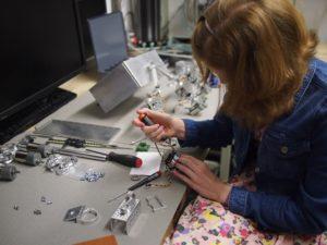 Making Mars Rover parts