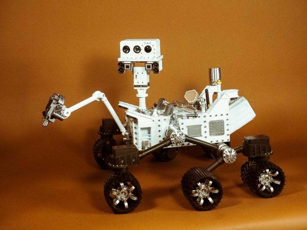 CURIOSITY MARS ROVER – MAIN VIEW