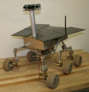 Spirit II – Mars Rover: INSIDE VIEW