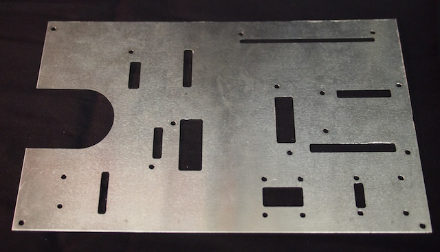 Using CNC to machine the electronics plate for Mars Rover