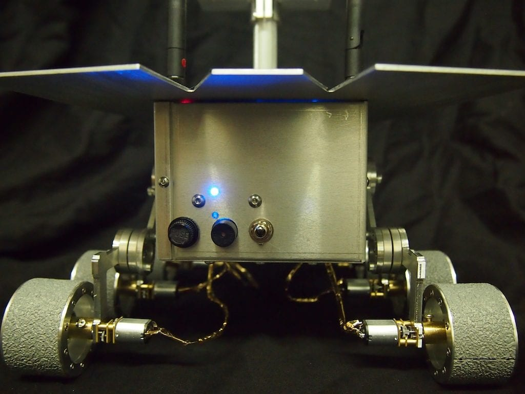 Mini Mars Rover – Rear View