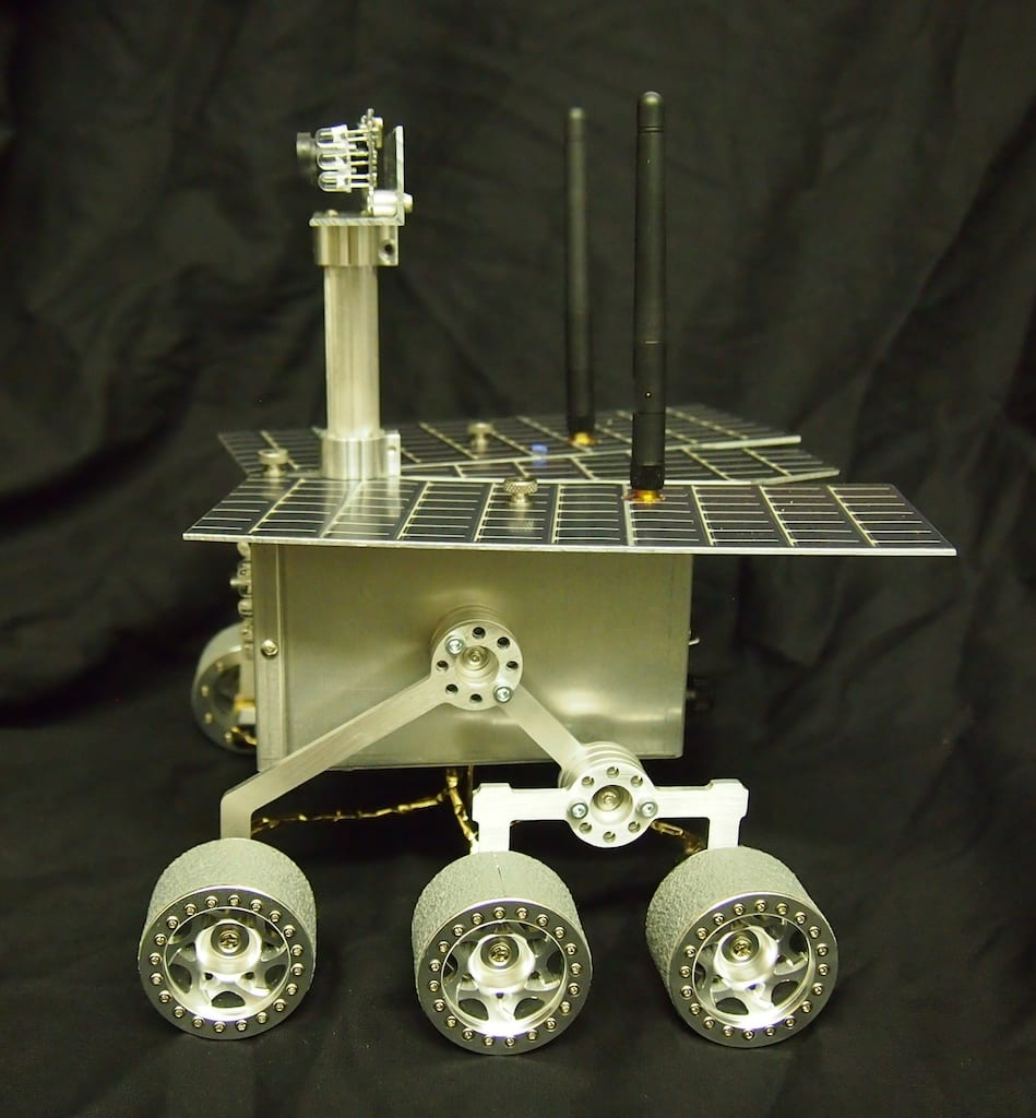 Mini Mars Rover - Side View