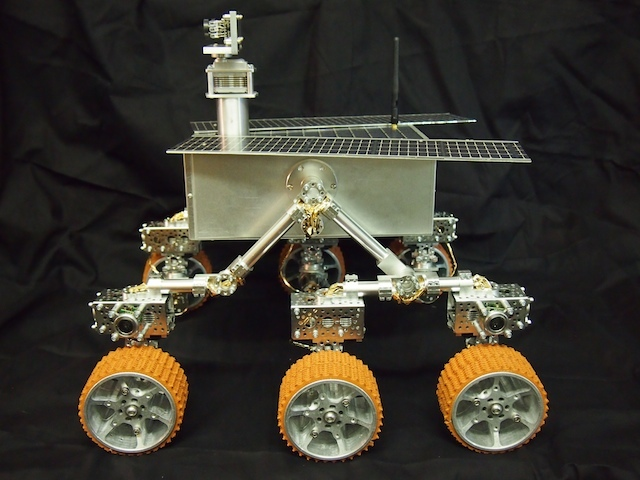 Mars Rover - Side View