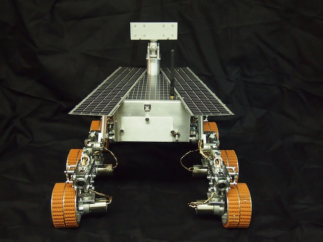 Mars Rover - Rear View