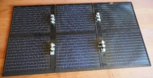 Lunar Rover Solar Panels
