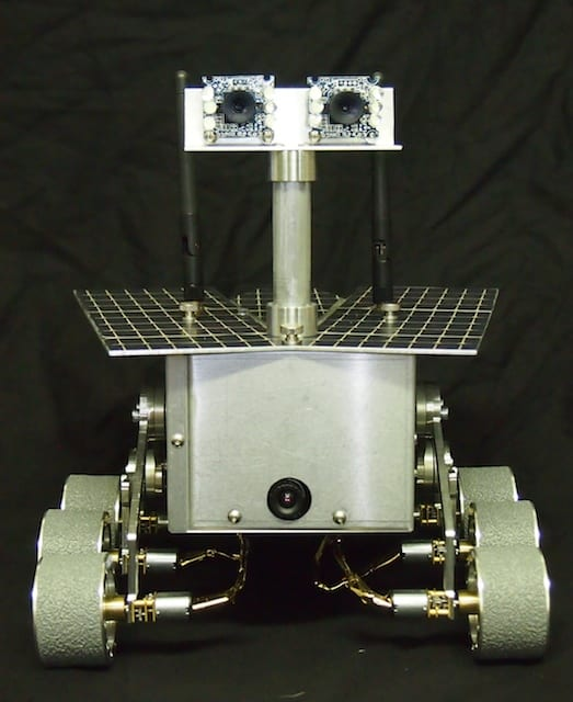 Mini Mars Rover – Front View