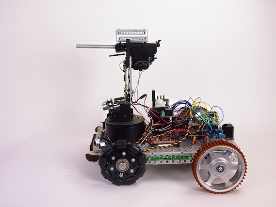 Security V Security Robot