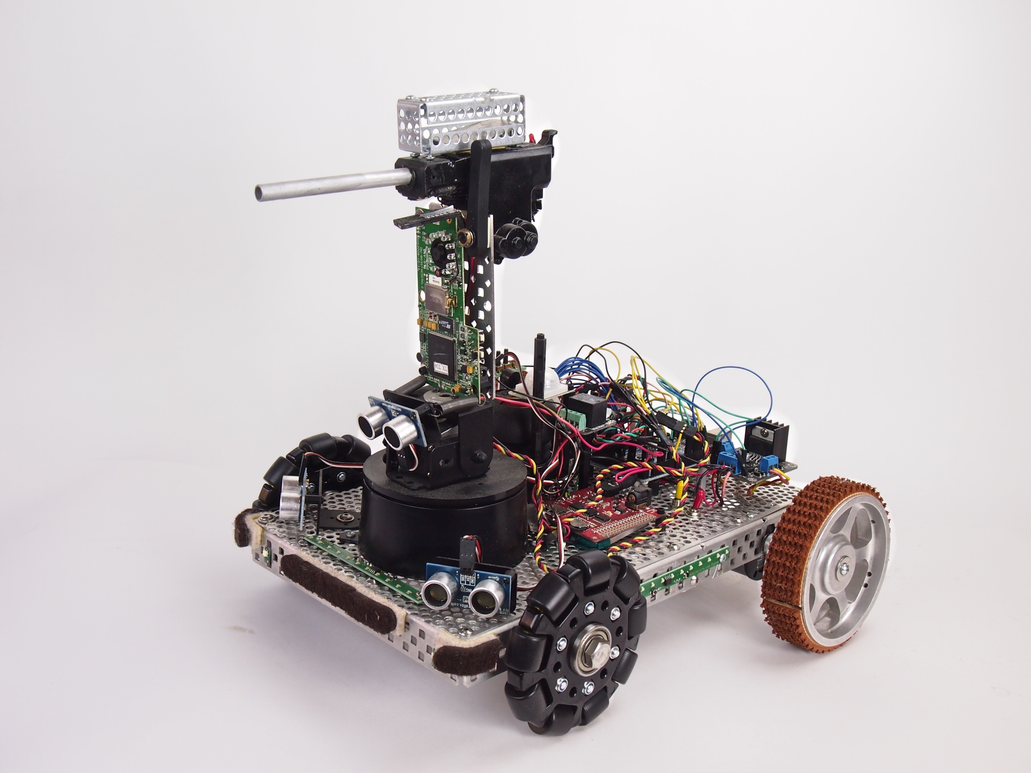 how to build a rover robot