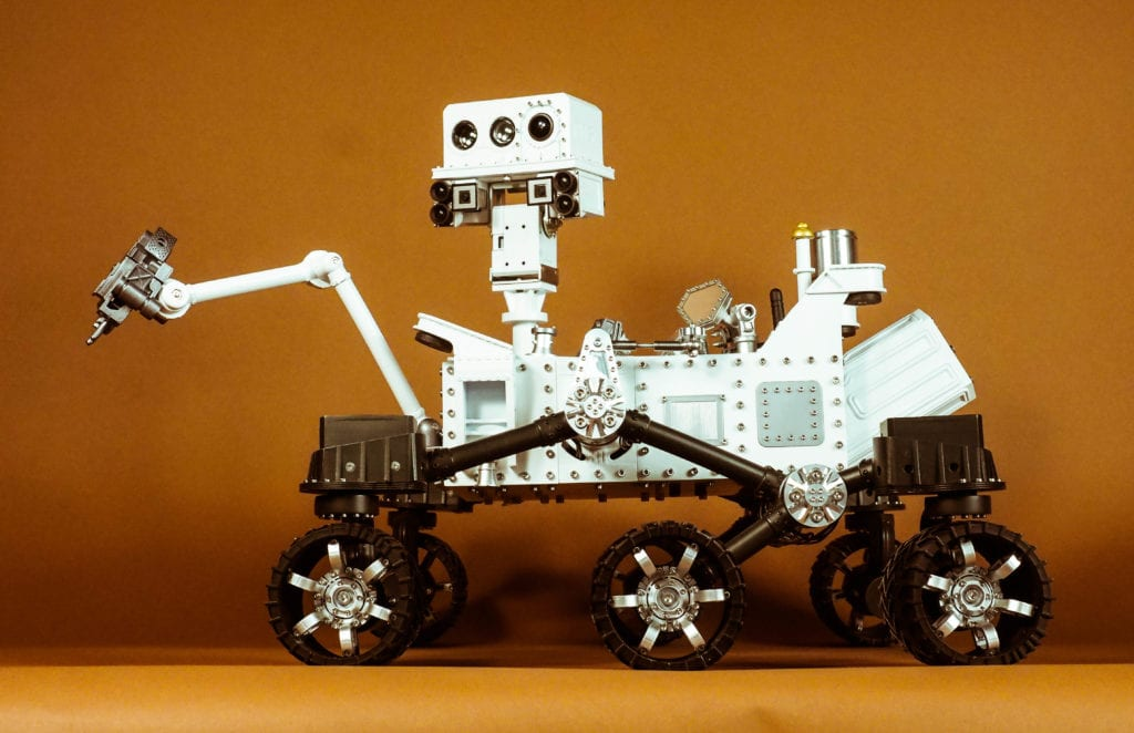 CURIOSITY MARS ROVER - Side View