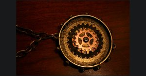Update on Steampunk Necklace