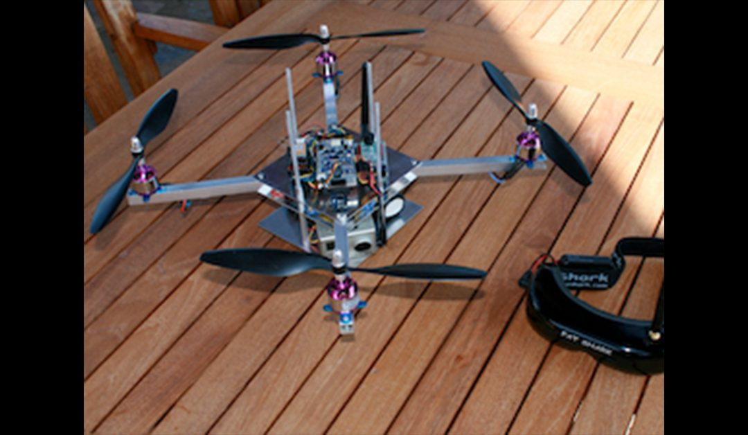 Flying Robot Drone
