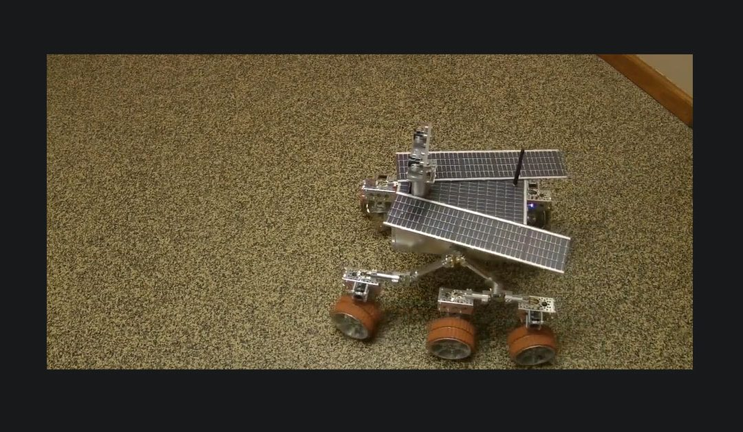 Mars Rover – Motion Test Video